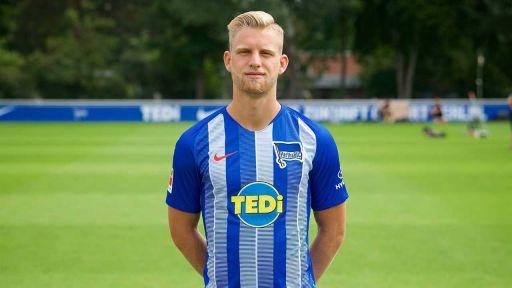 Arne Maier von Hertha BSC (Bild: imago/Tilo Wiedensohler)