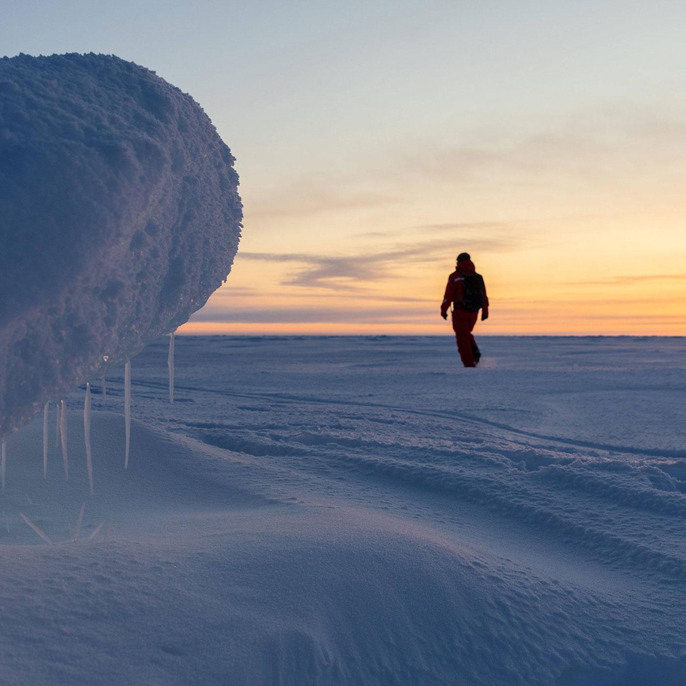 """""""Wir müssen alles daran setzen, um das arktische Meereis zu erhalten"""""""