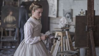 Amy March (FLORENCE PUGH) in Sony Pictures' LITTLE WOMEN © 2019 Sony Pictures Entertainment Deutschland GmbH / Wilson Webb