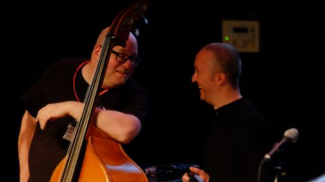 Yaron Stavi double bass | Marius Rodrigue drums © Gregor Baron