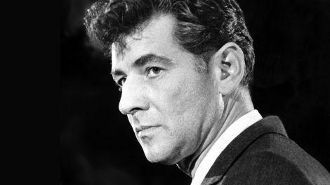 Leonard Bernstein (1918-1990), 1958; © dpa/Everett Collection