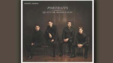 CD Cover: Quatuor Modigliani