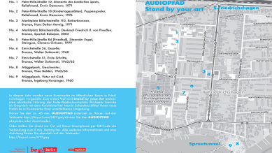 "Audiopfad ""Stand by your Art"" © Open Street Map, Stefka Ammon"