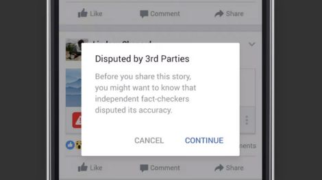 Disputed by 3rd Parties © Screenshot/FB