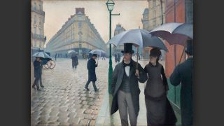 Gustave Caillebotte: Straße in Paris, Regenwetter © bpk / The Art Institute of Chicago / Art Resource, NY