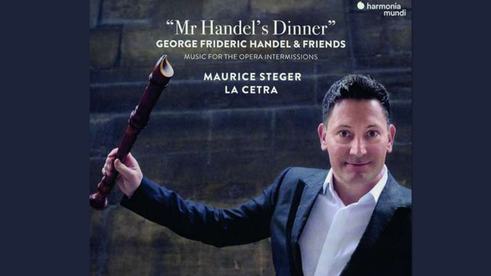 "Cover: Maurice Steger: ""Mr Handel's Dinner"""