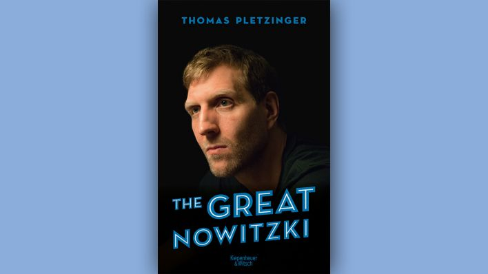 """The Great Nowitzki"" © Kiepenheuer und Witsch, Montage: rbb"