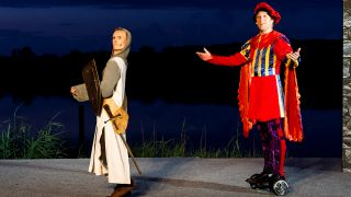 Schlosspark Theater: Monty Phython's Spamalot; © Olaf Hais