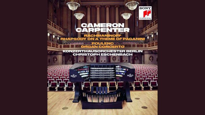 CD Cover: Cameron Carpenter