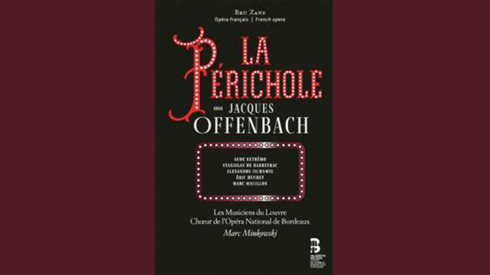 CD Cover: Jacques Offenbach: La Perichole