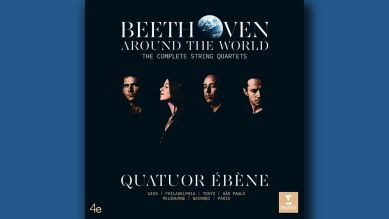 Beethoven around the World, Quatuor Ébène © Erato