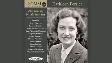 "Kathleen Ferrier: ""20th Century British Treasures"" © Ariadne"