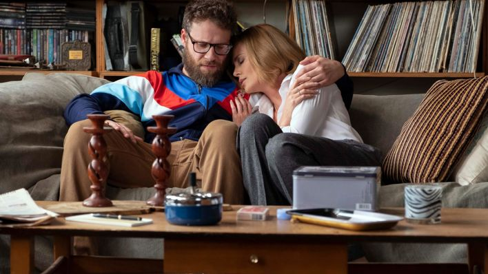 "Fred Flarsky (Seth Rogen) and Charlotte (Charlize Theron) in ""LONG SHOT"""