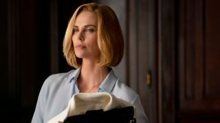"Charlize Theron as 'Charlotte Fields' in ""LONG SHOT"""