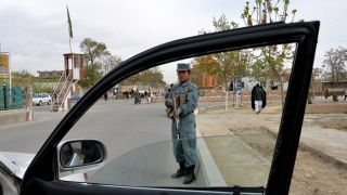 Polizei-Checkpoint in Afghanistan (Quelle: imago/Xinhua)