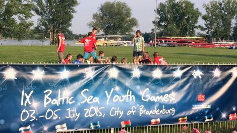 """Baltic Sea Youth Games"" in Brandenburg an der Havel (Quelle: rbb / Ole Hilgert)"