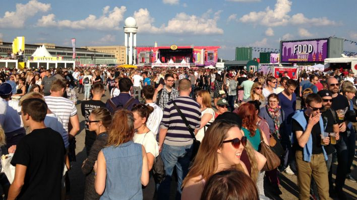Lollapalooza Festival 2015 in Berlin (Quelle: rbb / Thomas Blecha)