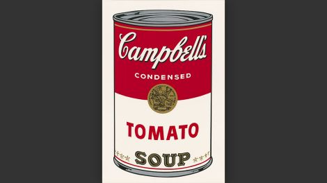 Andy Warhol, Ohne Titel (Tomato Soup), aus: Campbell's Soup I, 1968 © The Andy Warhol Foundation for the Visual Arts, Inc. / Licensed by Artists Rights Society (ARS), New York , Foto: © Staatliche Museen zu Berlin, Kupferstichkabinett / Dietmar Katz