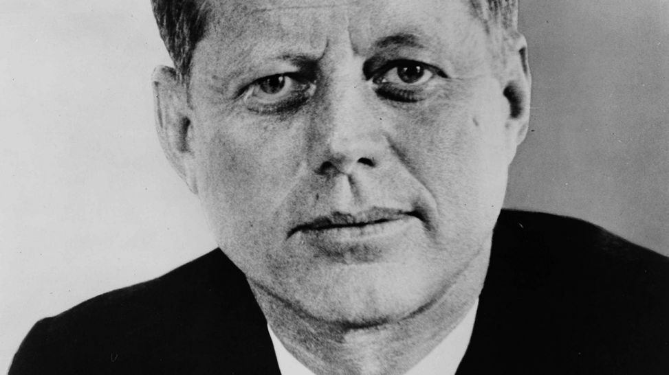John F. Kennedy, 1917-1963, 35. Präsident der USA; © imago-images/United Archives