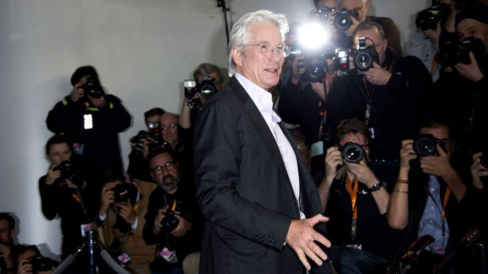 Richard Gere auf der 67. Berlinale, Quelle: imago
