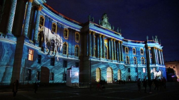 Festival of Lights Bebelplatz. Quelle: rbb