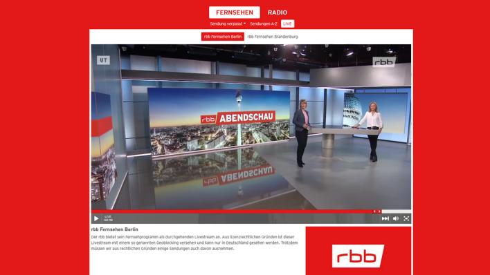Fernsehprogramm Rbb