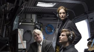 Philip Seymour Hoffman und Daniel Bruhl in A MOST WANTED MAN (Bild: imago mages / Everett Collection)