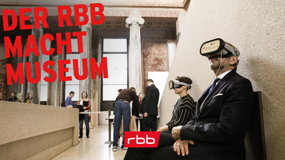 Der rbb macht Museum, Foto: picture alliance/Carsten Koall/dpa, Montage: rbb