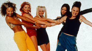 Die britische Girlband Spice Girls. Quelle: imago images/ TBM United Archives