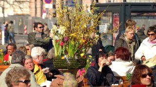 Ostern am Berliner Schlossplatz. Quelle: imago
