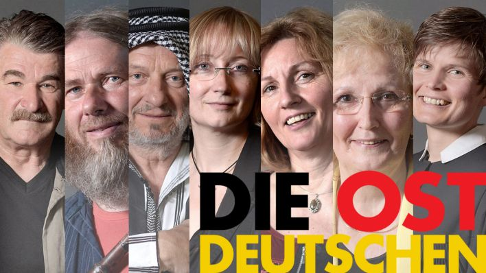 Die Ostdeutschen - Collage, (Quelle: rbb/Markus Wächter)