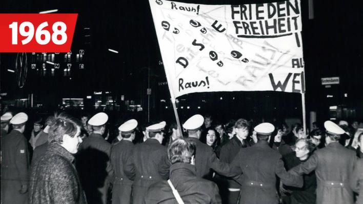 Berlin - Schicksalsjahre einer Stadt: 1968 | rbb