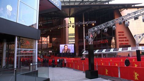 Eingang Berlinale Palast (Quelle: rbb)