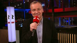 Knut Elstermann im Berlinale Studio
