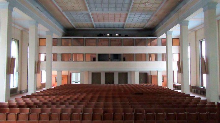 Bogensee Besichtigung bogensee goebbels villa hochschule der fdj rbb rundfunk berlin
