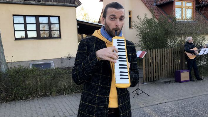 Andreas Jacob in Reichenwalde Quelle: Dagmar Lembke