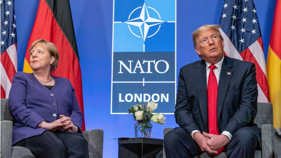 Trump Gratuliert Merkel