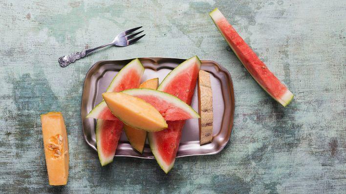 Melonendiät 1 Tag