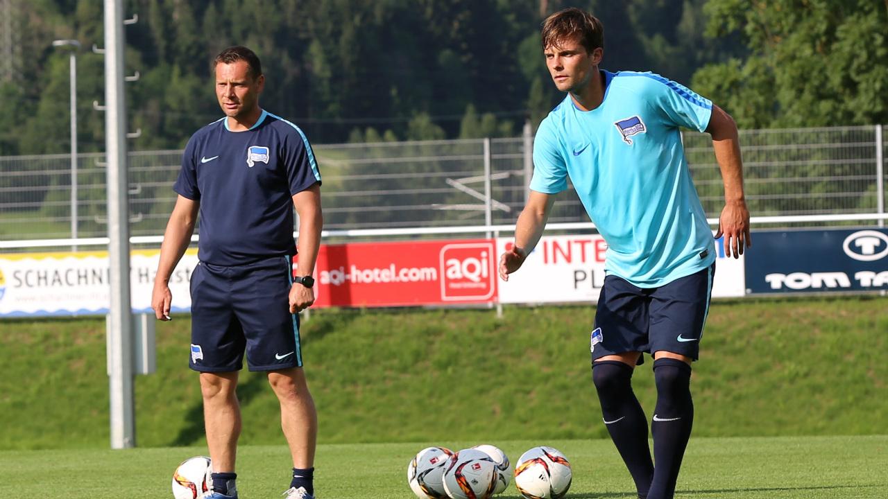 Hertha BSC - Ende eines harten Trainingslagers
