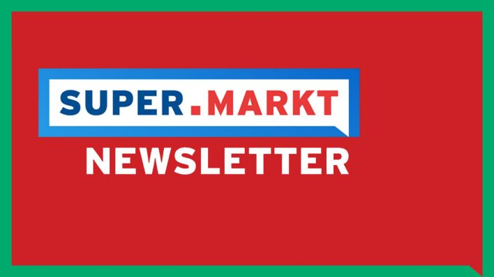 Das SUPER.MARKT-Newsletter-Logo