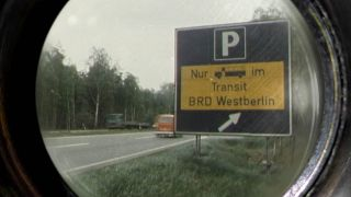 Transitschild (Quelle: rbb)