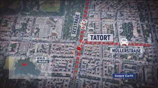Tatort Unfallflucht Wedding (Quelle: google earth)