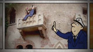 Cartoon - Betrunkener Romeo (Quelle: rbb)