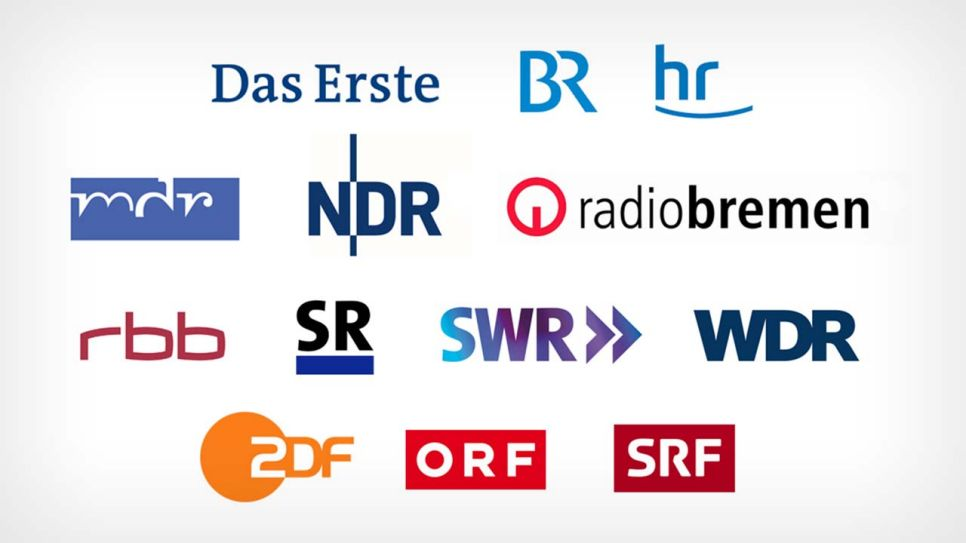 Collage Senderlogos; Quelle: NDR online
