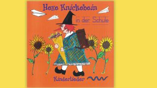CD-Cover Hexe Knickebein in der Schule; Quelle: Knickebein Records (Soulfood)
