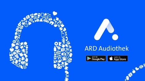 ARD-Audiothek jetzt bei Google Play und im AppStore (Grafik ARD)