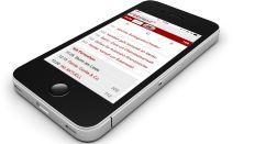Die rbbtext-App auf einem iPhone (Bild: rbb)