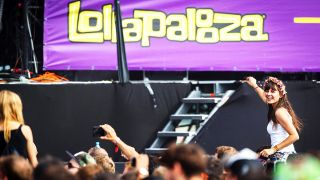 Publikum beim Lollapalooza-Festival 2015 in Berlin. (Quelle: imago | STAR-MEDIA)