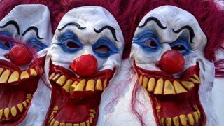 Clowns-Masken (Quelle: imago/ZUMA Press)