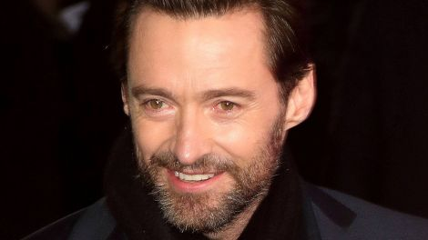 "Hugh Jackman bei der ""Eddie the Eagle""-Kinopremiere am 17.03.2016 in London (Quelle: imago/APress)"